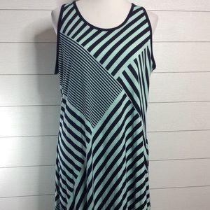 Casual Geometric Maxi Dress